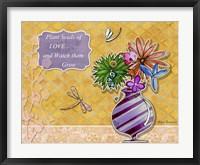 Flower Pot 2 Framed Print