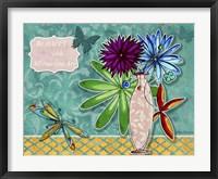 Flower Pot 3 Framed Print
