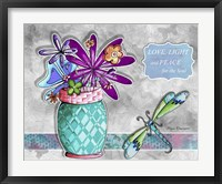 Flower Pot 6 Framed Print