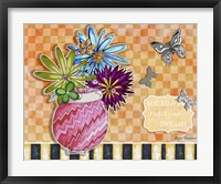 Flower Pot 7 Framed Print