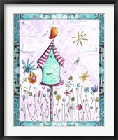 Bird House 2 Framed Print
