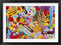 Candy Collage 2 Framed Print