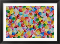 Gummie Drops Collage 1 Framed Print