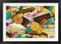 Baked Goodies Collage 2 Framed Print