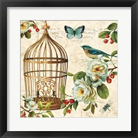 Free as a Bird II Framed Print