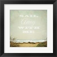 Framed Solace by the Sea Crop Inspiration
