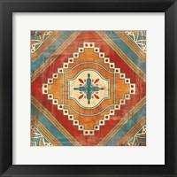 Framed Moroccan Tiles V v2