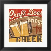 Framed Craft Brew I