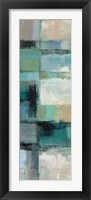 Island Hues Panel I Framed Print