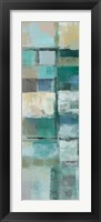 Island Hues Panel II Framed Print