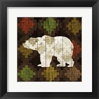 Framed Southwest Lodge - Bear