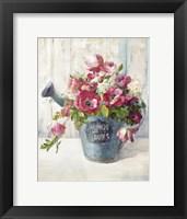 Framed Garden Blooms II