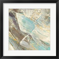 Framed Blue Water I