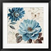 A Blue Note III Framed Print