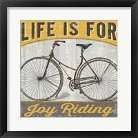 Framed Joy Ride I