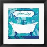 Marbled Bath II Framed Print