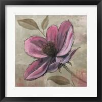 Plum Floral III Framed Print