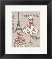 Fashion Week II Framed Print