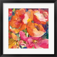 Framed Wild Beach Roses II