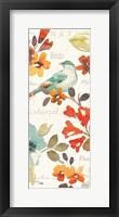 Natures Palette Panel II Framed Print