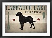 Framed Labrador Lake