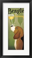 Framed Beagle Winery Chardonnay