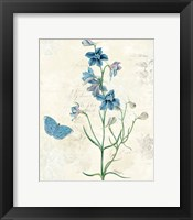 Booked Blue II Crop Framed Print