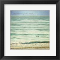 Framed Ocean Serenity Inspiration