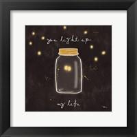 Framed Firefly Glow I