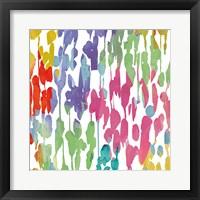 Splashes of Color II Framed Print