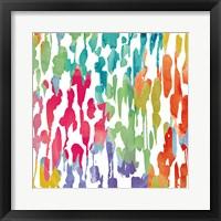 Splashes of Color III Framed Print