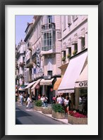 Framed Shopping Scenic, Cannes, France