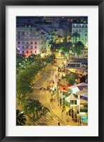 Framed Overview of La Pantiero, Cannes, France
