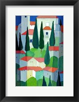 Framed Tuscan Dwelling