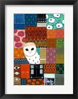 Paradise Owl Framed Print