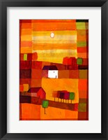 Autumn Country II Framed Print