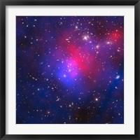 Framed Pandora's Cluster - Abell 2744