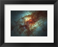 Framed Super Star Clusters in Dust-Enshrouded Galaxy