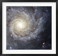 Framed Spiral Galaxy M74