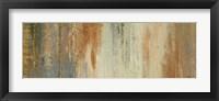 Siena Abstract Panel I Framed Print