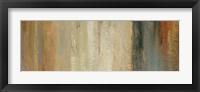 Siena Abstract Panel II Framed Print