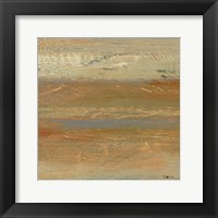 Siena Abstract V Framed Print