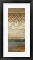 Siena Geometric Panel II Framed Print