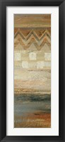 Siena Geometric Panel II Framed Print