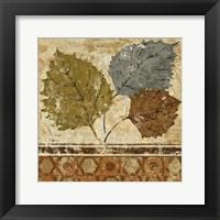 Golden Autumn I Framed Print
