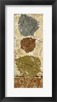 Golden Autumn Panel I Framed Print