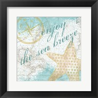 Look to the Sea II Framed Print
