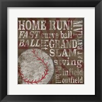 All Star Sports III Framed Print