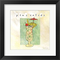 Tropical Cocktails II Framed Print