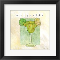Tropical Cocktails III Framed Print